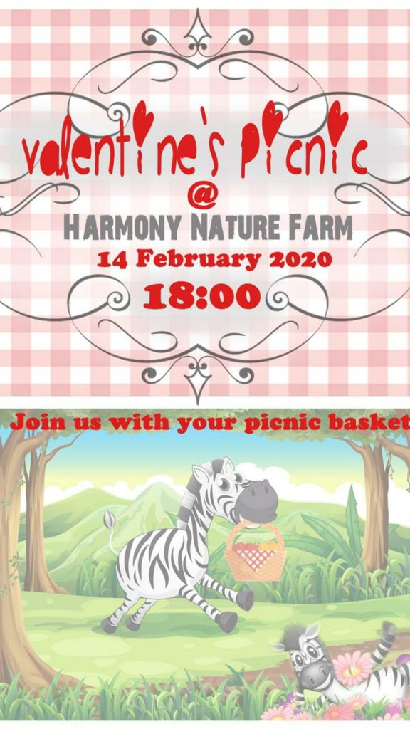 We hope to see many of you......you are welcome to bring your picnic basket but should the hassle be too much you can order from us @R250   by no later than 31/01/2020